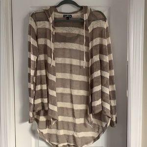 Striped Sweater w Hood